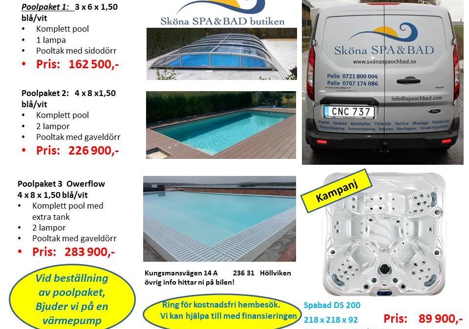 Vill du ha en egen pool, titta här